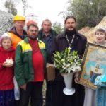 29 августа 2013 года Празднование памяти Порт-Артурской иконы Божией Матери и начало работ по заливке фундамента храма