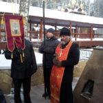 20 декабря 2015 г. прихожане храма прошли Малым Крестным ходом до Ганиной Ямы