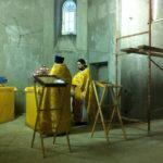 В храме в честь иконы Божией Матери Порт-Артурская начали регулярно служить Божественную Литургию