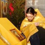 Первое Рождество Христово в храме