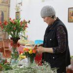 Лазарева суббота. Украшение храма к Вербному воскресению.