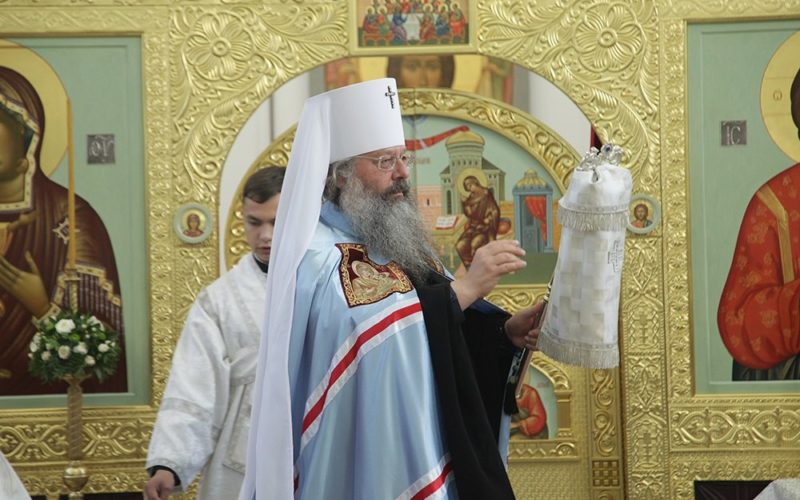 23 апреля - Архиерейская литургия в нашем храме
